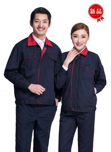 <b>现货工作服工程服车间工人机修男女款服套装</b>图片